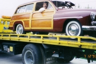 Woodie On The Tow Truck  circa 1993