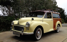 1959 Morris Minor Traveller - Joe & Arlene Solis