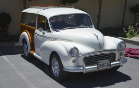 1959 Morris Minor Traveller - Tim & Pam Haworth