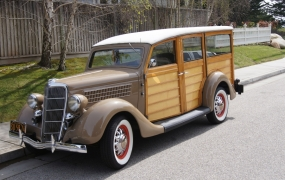 1935 Ford - Dave and Linda Patterson