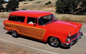 1955 Ford Ranch Wagon - Ed & Marilyn Bowman