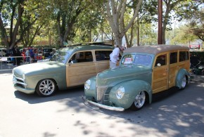 SCW Woodies at GoodGuys West Coast Nationals