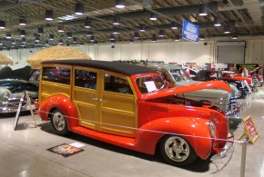 Woodies At The 2015 Grand National Roadster Show